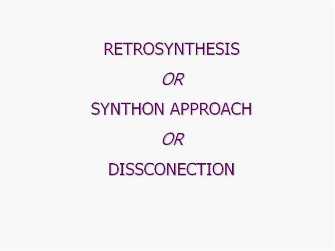 synthons retrosynthesis • need to add br at a position that is not possible by direct bromination, the obvious way is by addition of hbr to retrosynthesis problems identifying synthons.
