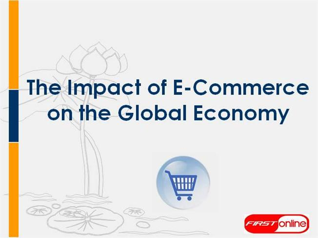 discuss global impact of e commerce on The impact of online shopping on retail property what is the future of retail property in the face of the e-commerce global managers with access to.