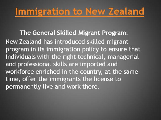 the problem of immigration and the fall of new zealand society Top 10 problems for or how the housing market works in your new country can also present problems to life in a very different kind of society.