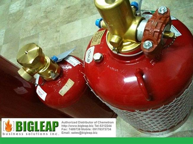 Bigleap Chemetron Fm200 Fire Suppression Systems