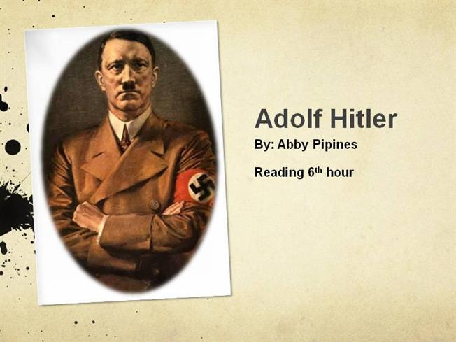 short biographical essay on adolf hitler A short biography of the fuehrer of the third reich, adolf hitler.