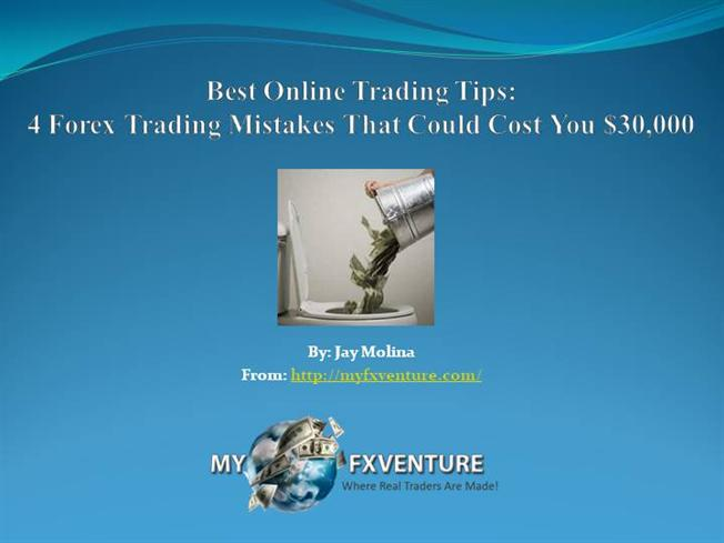 4 forex investment tips