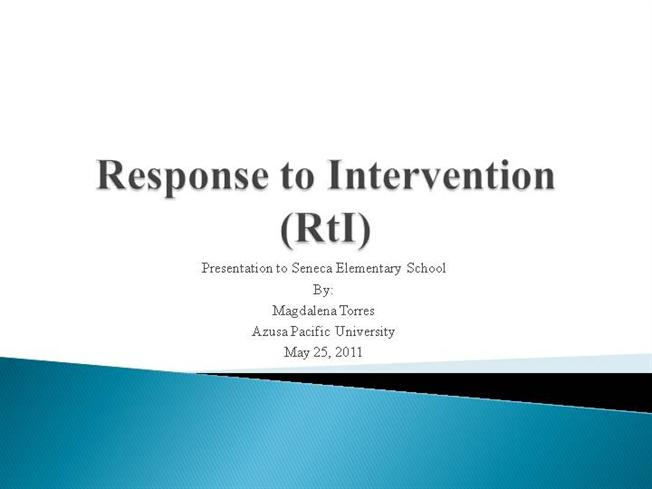 Response to intervention ppt authorstream for Response to intervention templates