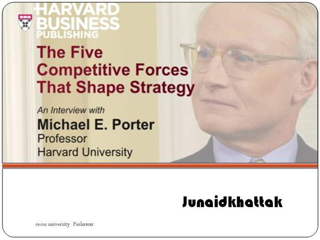the competitive five forces that shape The state of competition in an industry depends on five basic forces, which are  diagrammed in the exhibit on page 6 the collective strength of these forces.