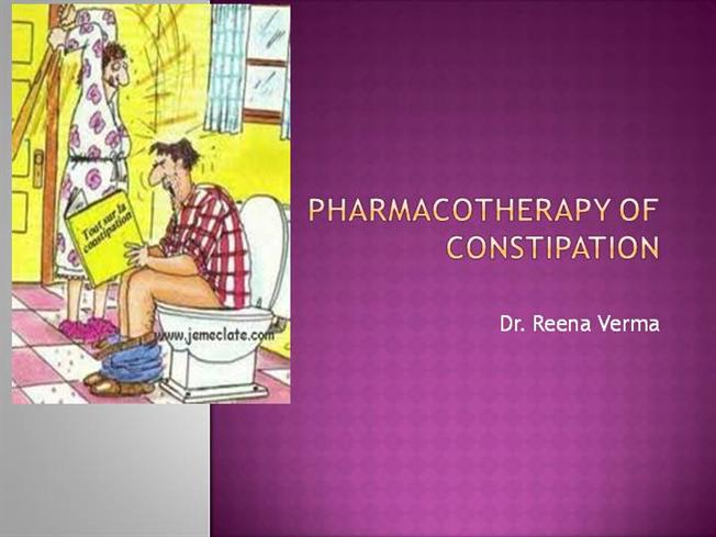 Constipation Pharmacotherapy Authorstream