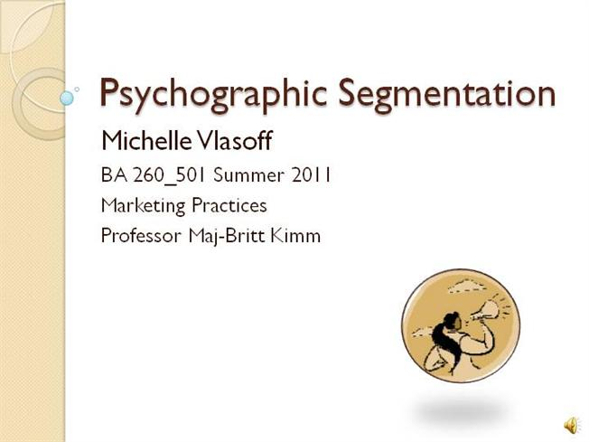honda psychographic segmentation A very complicated way to segment the market is through using psychographics psychographic segmentation market segmentation: geographic, demographic.