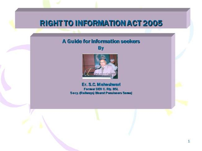 right to information act 2005 The income tax department never asks for your pin numbers, passwords or similar access information for credit cards, banks or other financial accounts through e-mail the income tax department appeals to taxpayers not to respond to such e-mails and not to share information relating to their credit card, bank and other financial accounts.