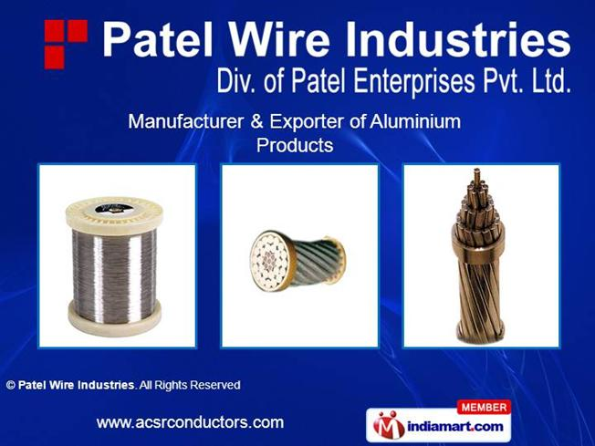 All Aluminium Wires By Patel Wire Industries Mumbai