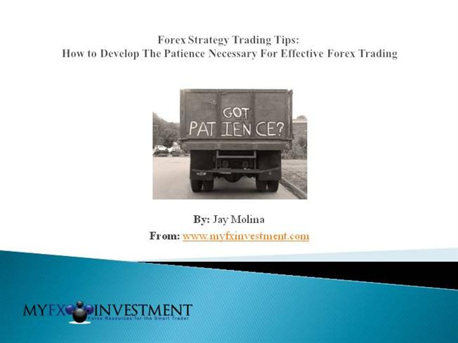 How to develop a forex trading plan