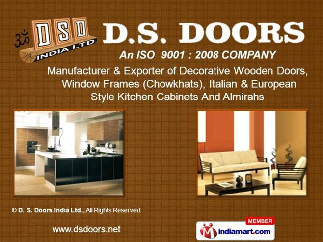 Home furniture by d s doors india ltd faridabad for Hometown furniture faridabad