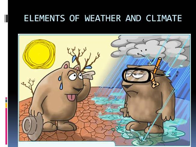 elements of weather and climate pps