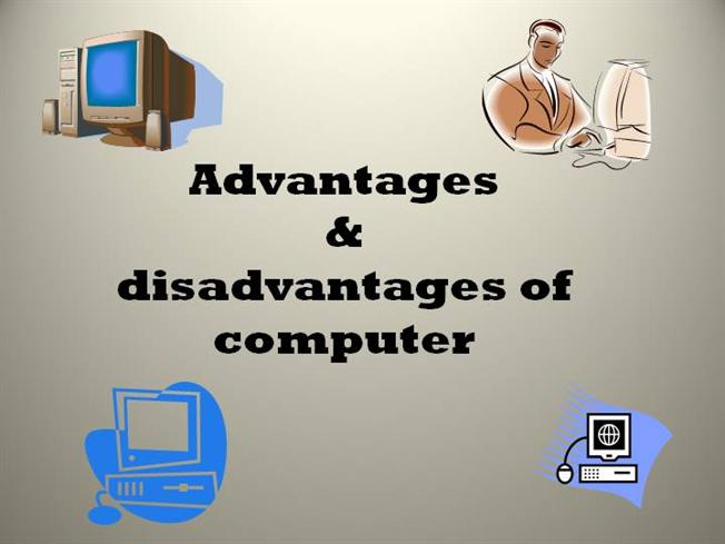 essays on computer advantages & disadvantages
