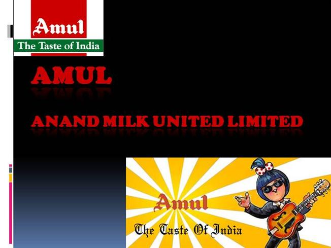 amul company introduction This co-operative, the kaira district co-operative milk producers union ltd  began with just two village dairy co-operative societies and 247 litres of milk and  is.