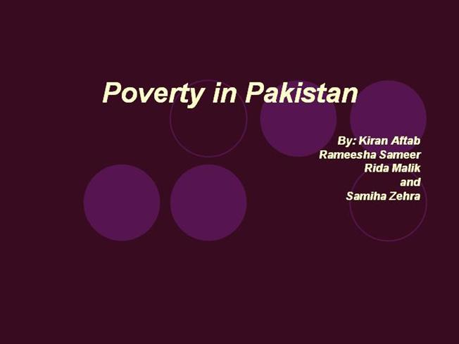 short essay on causes of poverty