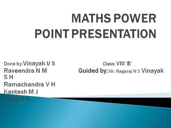 maths ppt on quadrilaterals