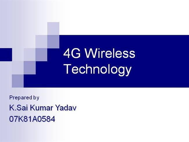 Difference between 3G and 4G Technology