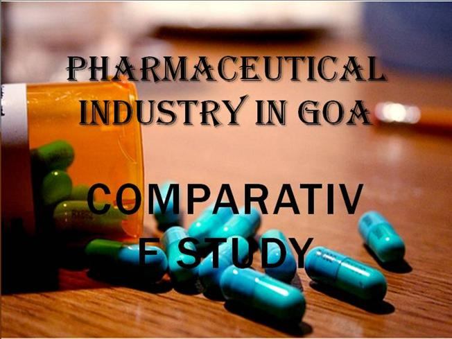 pharmaceutical industry in goa