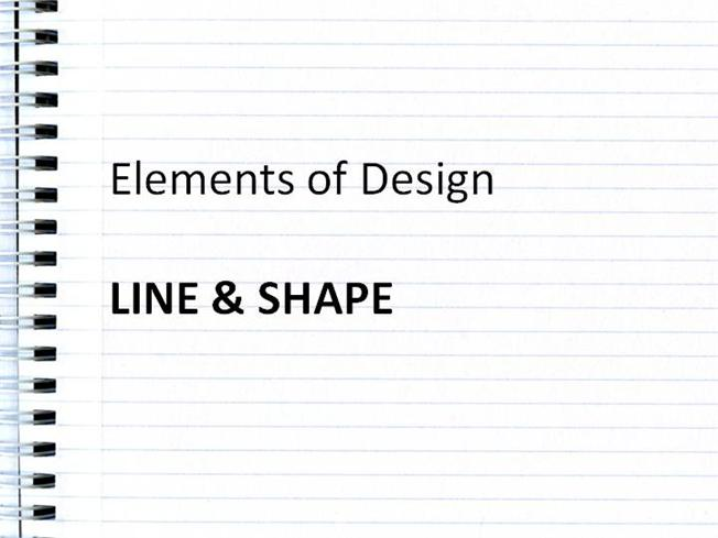 Elements of design line and space authorstream for Elements of design space