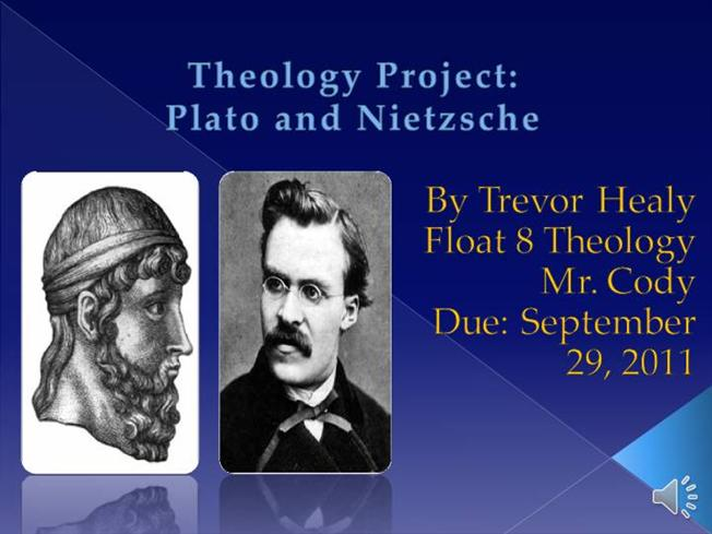 dialogue between plato and nietzsche Eros in plato, rousseau, and nietzsche - project muse in.