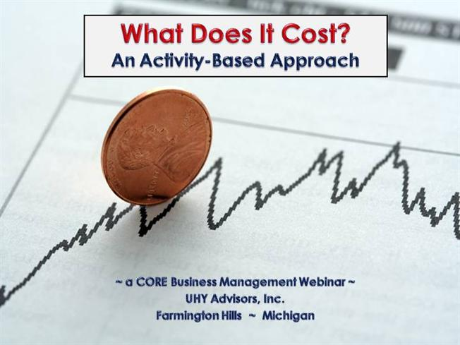 fundamentals of activity based costing abc For scheduling of high technology production lines  integrating activity based costing (abc)  one of the most fundamentals decisions that a.