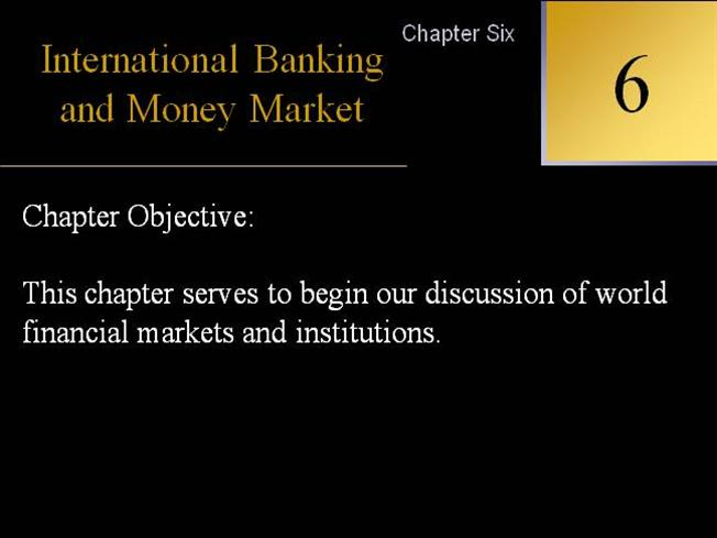 money banking and financial markets sixth edition pdf