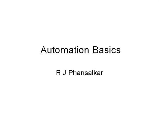 automated templates for intros - automation basics authorstream