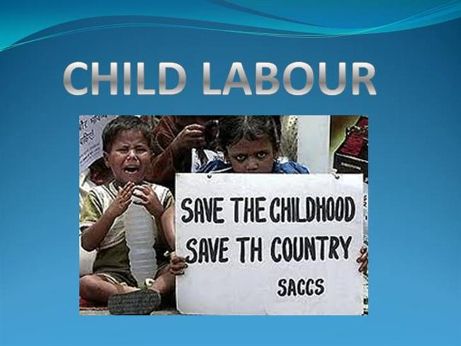 an analysis of child labor in society