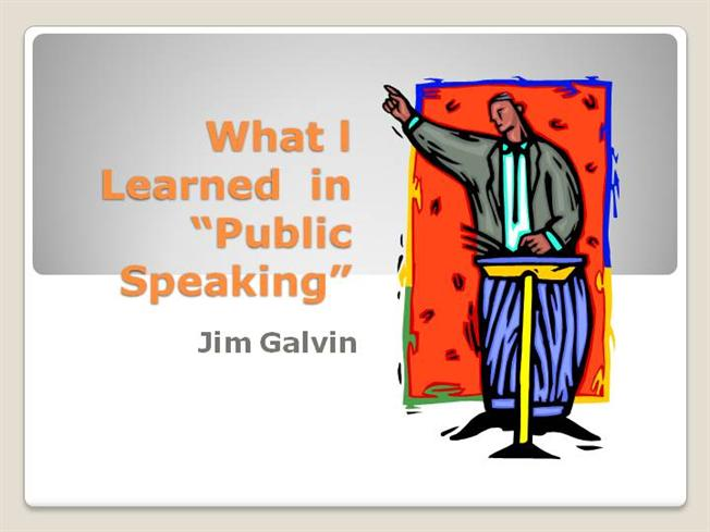what i have learned about public speaking