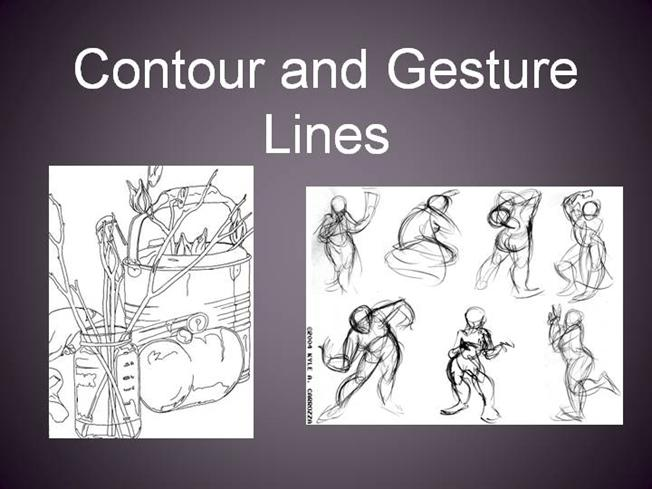Contour Line Drawing Pdf : Contour and gesture authorstream