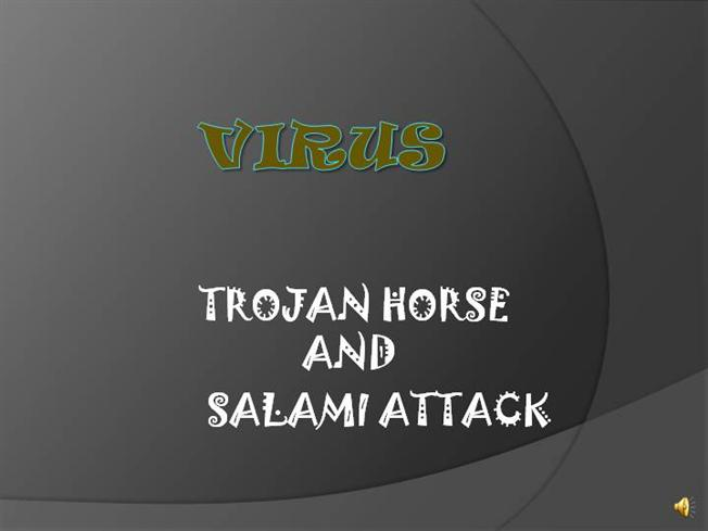 salami attack Salami attack  we noted in chapter 1 an attack known as a salami attackthis approach gets its name from the way odd bits of meat and fat are fused in a sausage or salami in the same way, a salami attack merges bits of seemingly inconsequential data to yield powerful results.