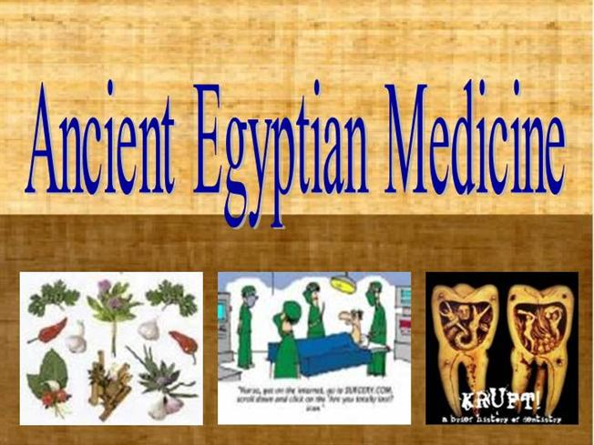 the medicine of ancient egypt Ancient egyptian medicine ancient egypt is one of the most amazing and awe- inspiring civilizations the world has ever known while we might think about.