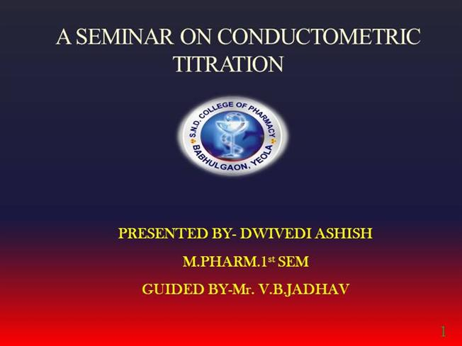 types of conductometric titration pdf