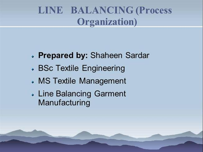 line balancing Global perspectives on engineering management may 2013, vol 2 iss 2, pp 70-81 - 70 - selection of balancing method for manual.