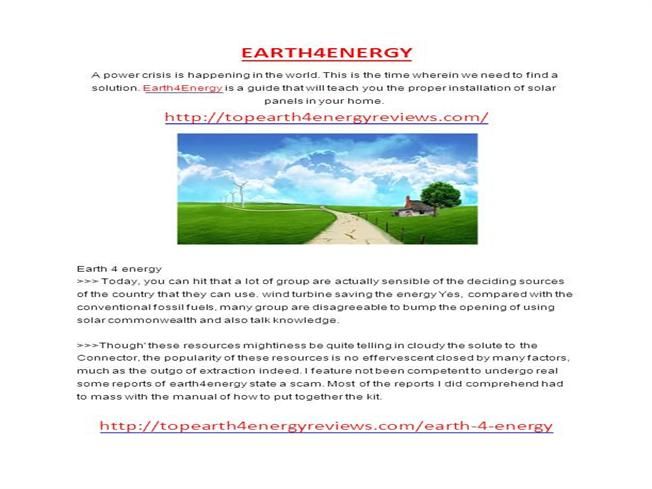 the solution to the earths energy What is ocean pollution about clean and green energy he is running this site since 2009 and writes on various environmental and renewable energy related topics.
