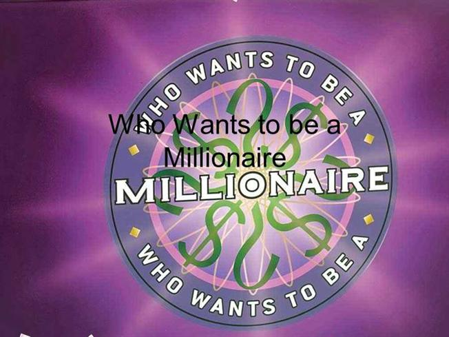 Interactive tefl game template who wants to be a for Who want to be a millionaire game template