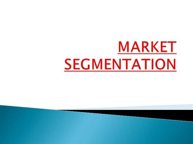 ipad market segmentation The market segmentation concept is crucial to market strategy apple has targeted and marketed their products to consumers with a few certain characteristics.