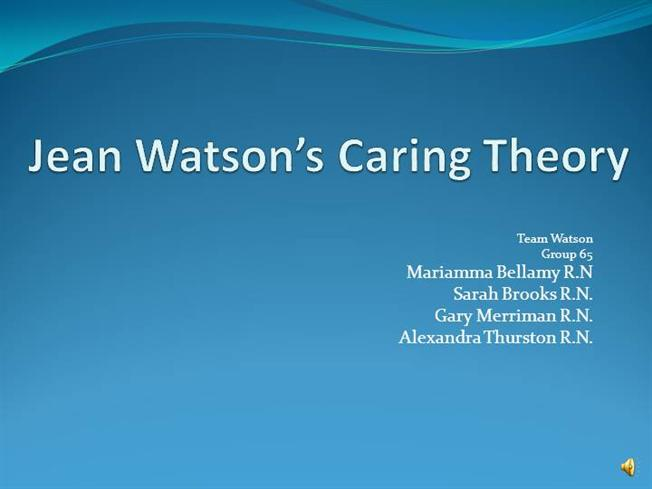 a pragmatic view of jean watson s caring theory Home the science of caring the science of caring by rob fraser mn rn on march 3, 2011 a pragmatic view of jean watson's caring theory international journal for human caring 7(3):51-61 quinn, j jean watson, nursing, theory about rob fraser mn rn registered nurse.