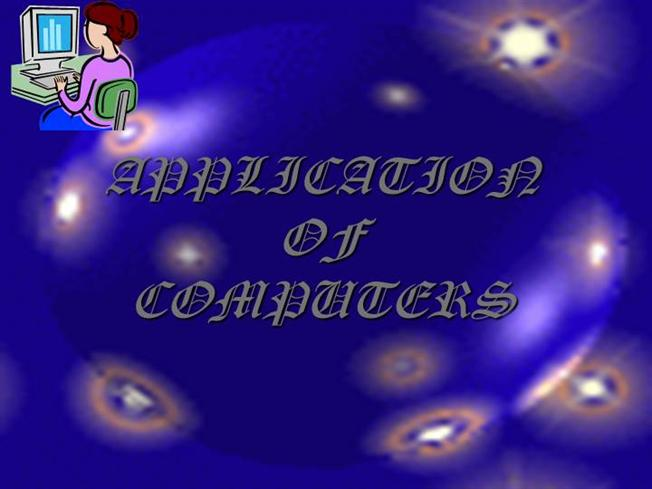 applications of computers Types of computers download document (in  supercomputers are very expensive and are employed for specialized applications that require immense amounts of.