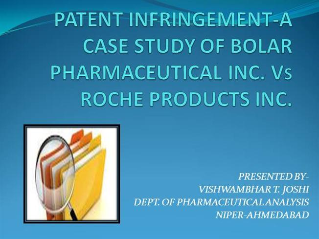 a study of pharmaceutical patents While universities have traditionally licensed their drug patents to the  we have  this big international medical research and development.