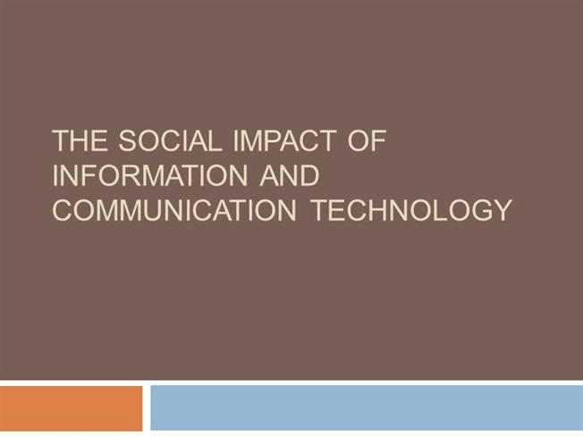 social impact of technology information technology essay Impact of social networking on e business information technology essay print reference this the evaluated impact that social networking has on e-businesses and e.