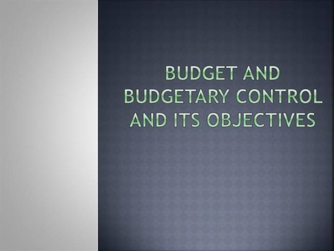 objectives of budgetary control Get free research paper on role of budgeting and budgetary control in a business organization project topics and materials in nigeria this is approved for students.