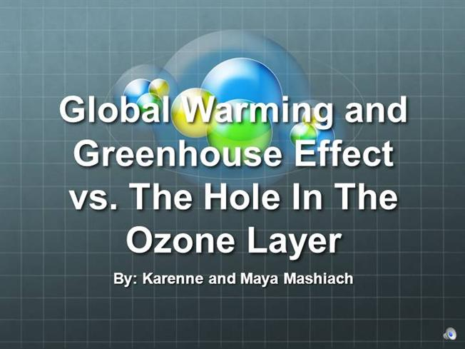 greenhouse effect and the hole in Attributes increasing global temperature to increasing solar input through the ozone hole some students with this mental model also understood the greenhouse effect as the trapping of reflected solar energy by greenhouse gases or clouds many students thought it was the greenhouse gases themselves that were being.