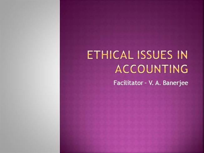 ethic accounting Code of ethics and conduct this factsheet has no regulatory status it is issued for guidance purposes only, and in the event of any conflict between the content.