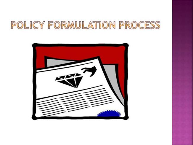 policy formulation This report is one of three that the institute for government is releasing as part of its research into policy making in government it provides both an in-depth look.