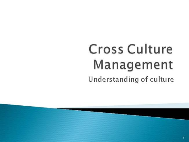 the cross culture management strategy about When does culture matter in marketing about cultural differences are often the basis for international marketing communications as well as global brand management.