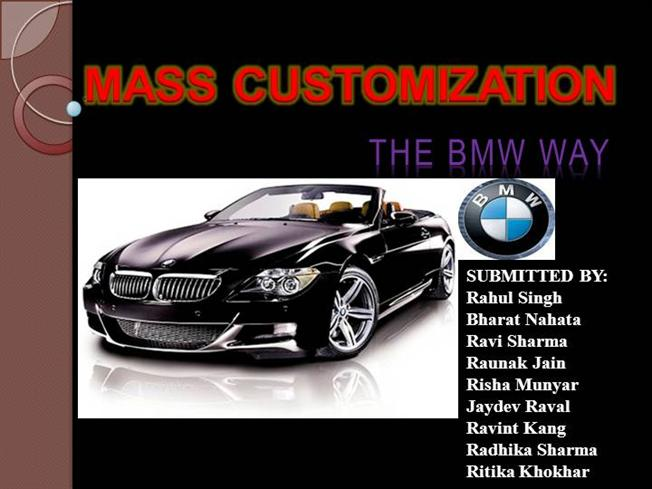 bmw operations management essay