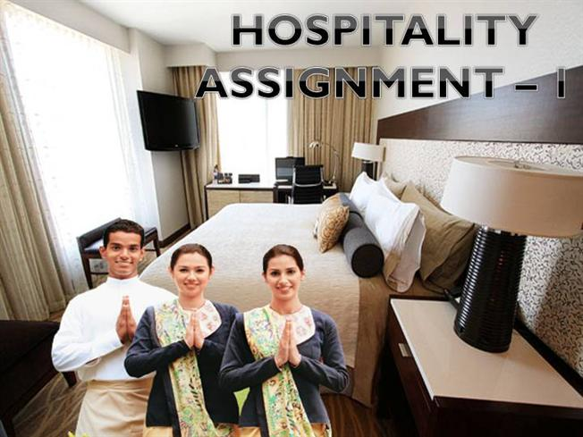 HOSPITALITY 1ST ASSGNMNT  authorSTREAM