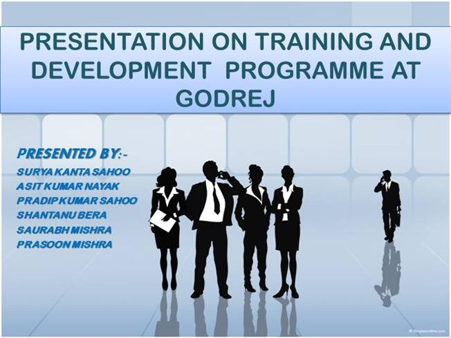 training and development at godrej The award-winning itc hospitality management institute ranks as the best hospitality training centre in commitment in training and development of.