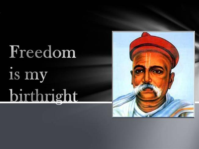 freedom is my birthright 2016-3-17 what are slogans of indian freedom fighters   what are the most inspiring slogans of indian freedom fighters that still  (swaraj is my birthright and i.