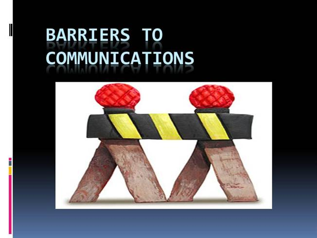overcoming barriers to communication